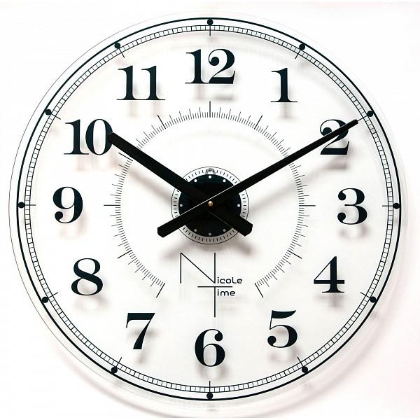 Настенные часы (50x50 см) Nicole Time NT538 фото