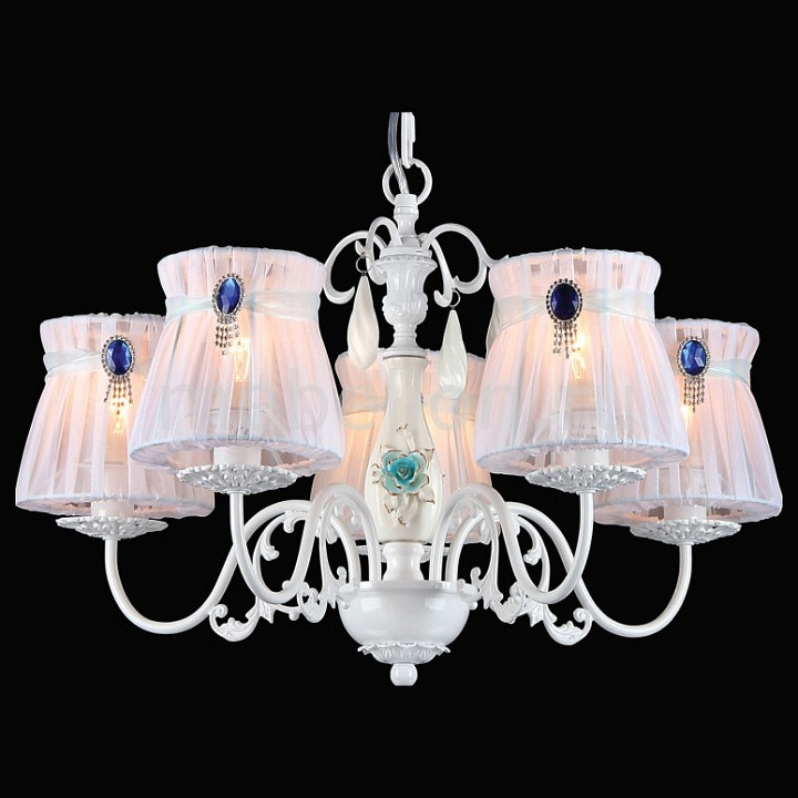 Купить Подвесная люстра Natali 10425/5C WHITE GOLD, Natali Kovaltseva