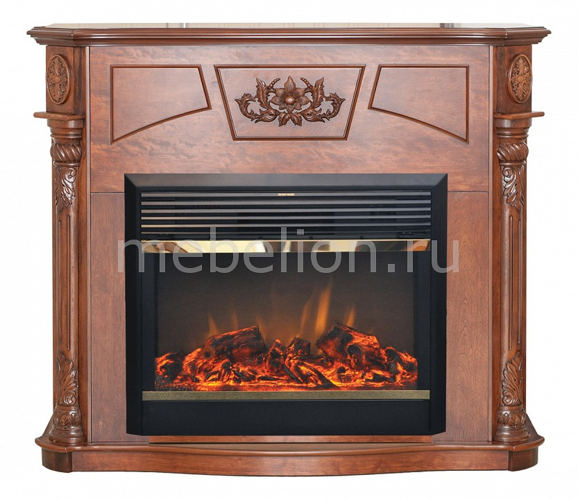 Электрокамин напольный Real Flame (126.5х36х105 см) Sofie 00000003974 электрокамин real flame florida 26 ao moonblaze