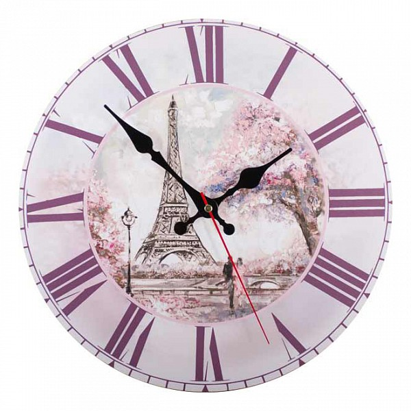 Настенные часы (30x30 см) Прованс KD-040-110 фото