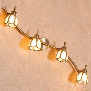 Спот поворотный Альтен, 4 лампы G9 по 40 Вт., 8.89 м², цвет молочный сатин