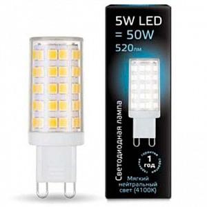 Лампа светодиодная 1073 G9 185-265В 5Вт 4100K 107309205