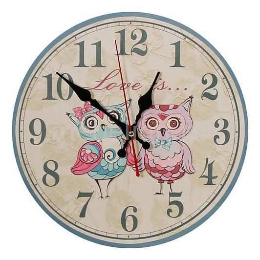 Настенные часы Акита (30 см) Совята C57