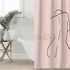 Штора для ванной (145x180 см) Nudity