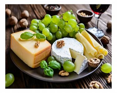 Панно (50х40 см) Сыр и фрукты 1744069К5040