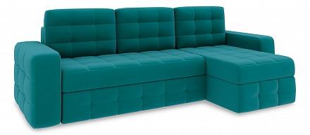 Угловой диван-кровать Райс Slim Т1 Тик-так / Диваны / Мягкая мебель