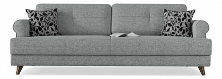 Прямой диван-кровать Мирта (Милфорд) Еврокнижка / Диваны / Мягкая мебель