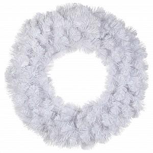 Венки хвойные [45 см] Исландская белоснежный 73850
