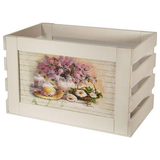 Ящик декоративный Акита Сирень 802W фаллоимитатор акита