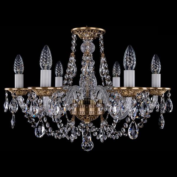 Подвесная люстра 1606/6/195/FP Bohemia Ivele Crystal  (BI_1606_6_195_FP), Чехия