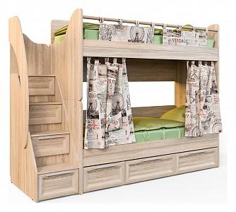 Двухъярусная кровать190х80 Шервуд SKN_KSH_2_2