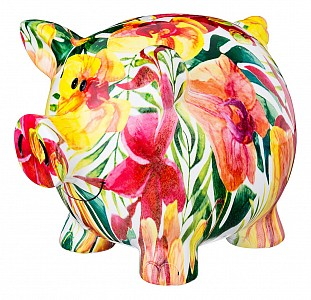 Копилка (20х14х16 см) Свинка 574-365