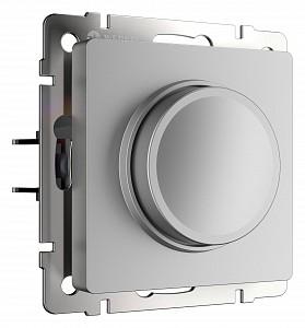 Диммер без рамки W1142006 (серебряный)