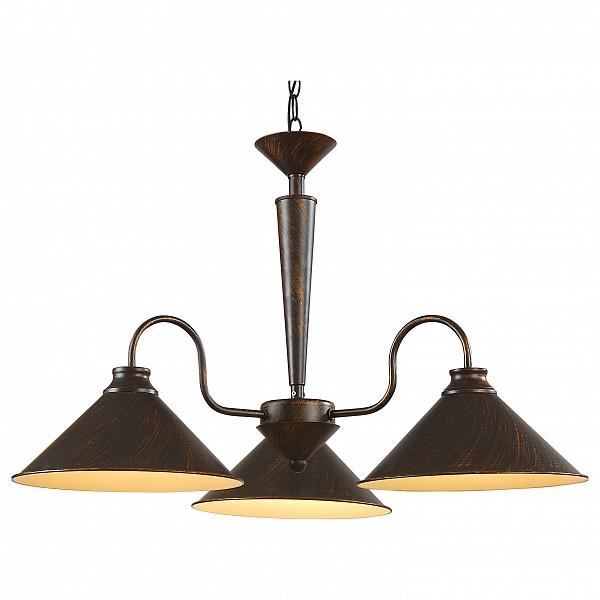 Подвесная люстра Cone A9330LM-3BR Arte Lamp  (AR_A9330LM-3BR), Италия