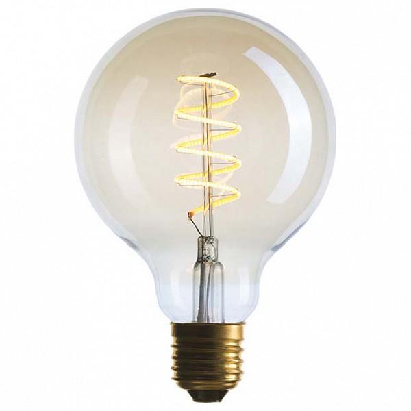 Лампа светодиодная G95 E27 240В 5Вт 2200K 056-984
