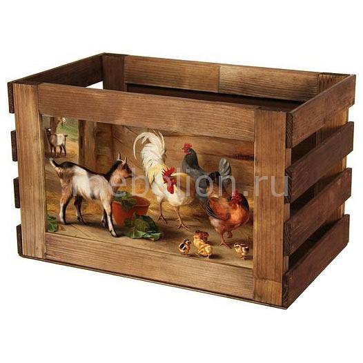 Ящик декоративный Акита Козлик 823 серенький козлик