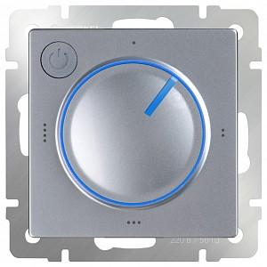 Терморегулятор электромеханический для теплого пола Серебряный WL06-40-01