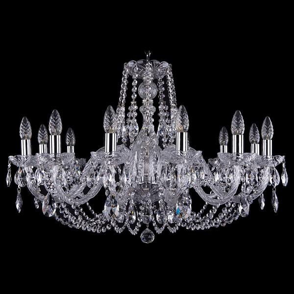 Подвесная люстра 1406/12/300/Ni Bohemia Ivele Crystal  (BI_1406_12_300_Ni), Чехия