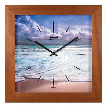 Настенные часы Lowell (34х34 см) Lowell 05443 lowell lowell 11297