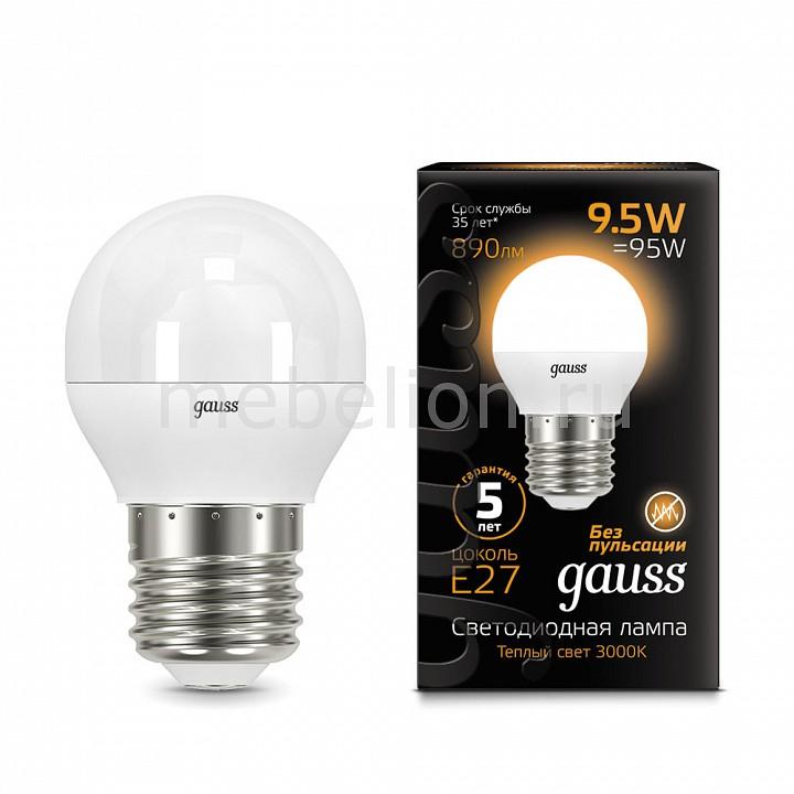 Купить Лампа светодиодная E27 9.5Вт 150-265В 3000K 105102110, Gauss, Китай