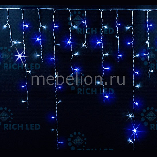 Светодиодная бахрома RichLED RL_RL-i3_0.9F-T_BW от Mebelion.ru