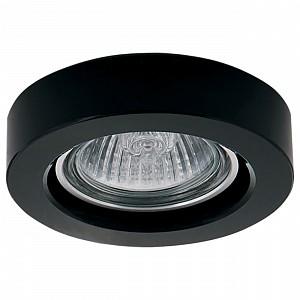 Встраиваемый светильник черного цвета Lei LS_006157