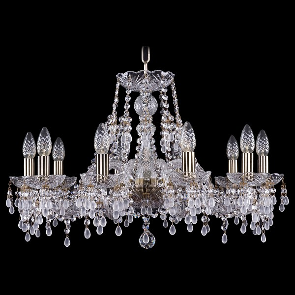 Подвесная люстра 1410/10/240/Pa/V0300 Bohemia Ivele Crystal  (BI_1410_10_240_Pa_V0300), Чехия