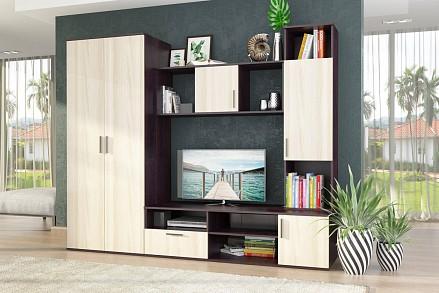 Мебельная стенка среднего размера Мелани STL_2018031900000