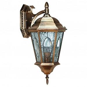 Уличный настенный светильник Витраж с овалом FE_11320