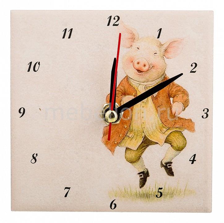 Настольные часы АРТИ-М (10x10 см) Свинки 354-1636 арти м 30х60 см уютный дворик 354 920