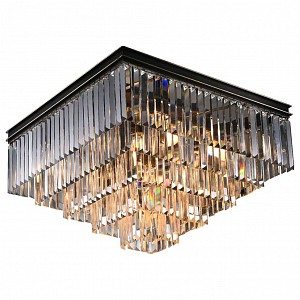 Накладной светильник 31112/PL black+gold