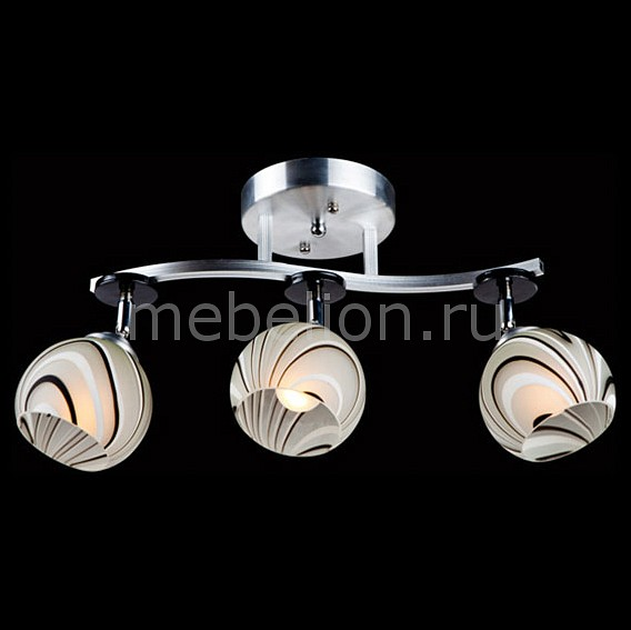 Светильник на штанге 9643/3 алюминий/белый