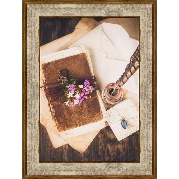 Картина (30х40 см) Чернильница и письма BE-103-406 фото