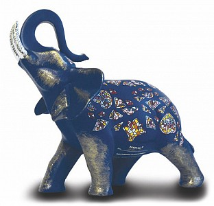 Статуэтка (12 см) Синий слон 763410/04