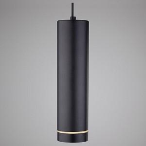 Подвесной светильник Topper DLR023 12W 4200K черный матовый 12W
