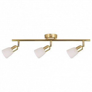 Спот поворотный Debora, 3 лампы E14 по 40 Вт., 4.71 м², цвет белый глянцевый