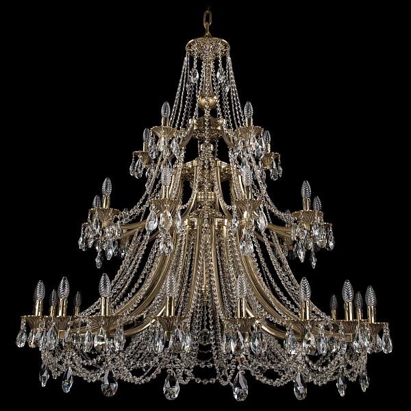 Подвесная люстра 1771/20+10+5/490/C/GB Bohemia Ivele Crystal  (BI_1771_20_10_5_490_C_GB), Чехия