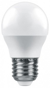 Лампа светодиодная [LED] Feron E27 9W 6400K