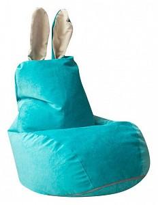 Кресло-мешок Зайчик Бирюзовый