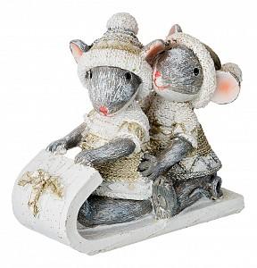 Статуэтка (11x5x8.5 см) Мышки 162-665