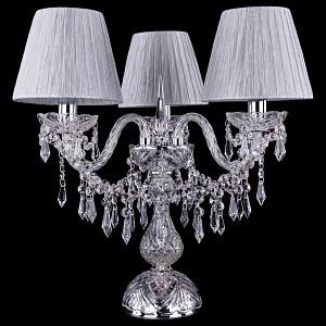 Настольная лампа декоративная 1403L/3/141-39/Ni/SH6-160