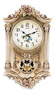 Настенные часы (38x11.5x65 см) Арт 204-231