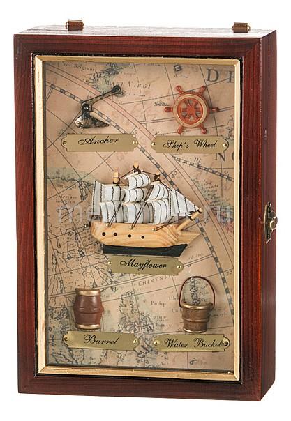 Ключница АРТИ-М (18х25 см) Парусник 271-005 стоимость