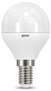Лампа светодиодная [LED] Gauss E14 9.5W 3000K