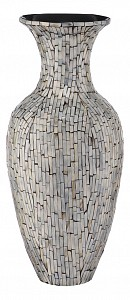 Ваза напольная (52 см) Серебряная россыпь VP-33