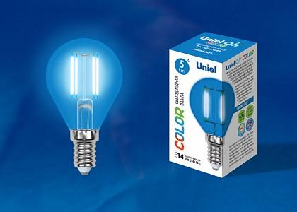 Лампа светодиодная [LED] Uniel E14 5W K