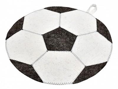 Коврик для бани (45 см) Футбольный мяч