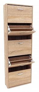 Шкаф для обуви в прихожую Милан MAS_MST-ODM-28-R-16DS