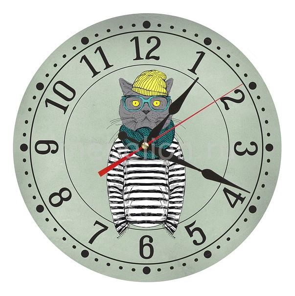 Настенные часы Акита (30 см) Кот AC19 цена и фото