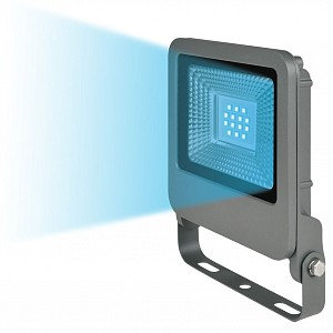 Светильник на штанге ULF-F17-10W/BLUE IP65 195-240В SILVER